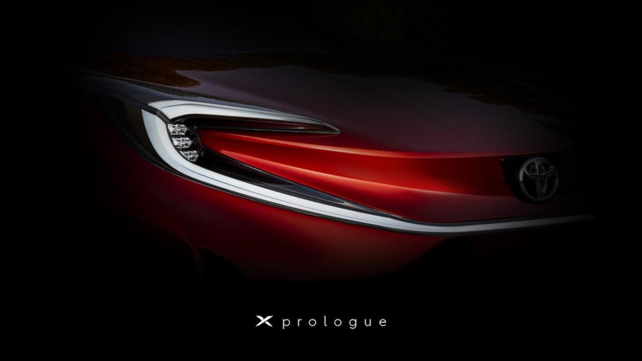 トヨタの新EV!? 「Xプロローグ」がチラ見せ