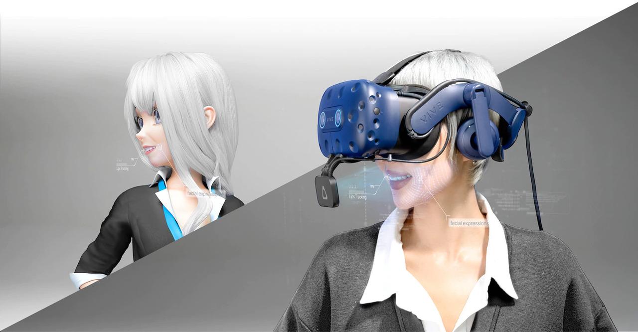「VIVE Facial Tracker」でVR口元美人になりませんか