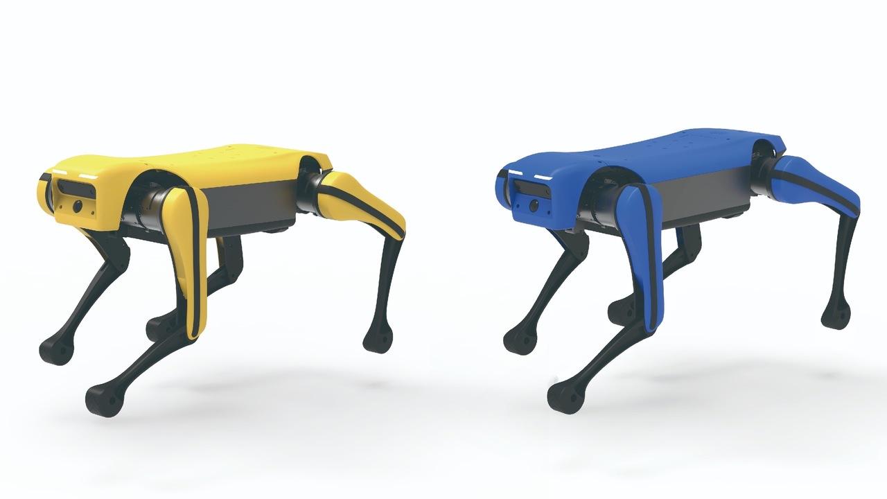 小型でバク宙もお手のもの。『死亡遊戯』カラーで「Spot」ソックリな中国の犬型ロボ「絶影 Mini Lite」