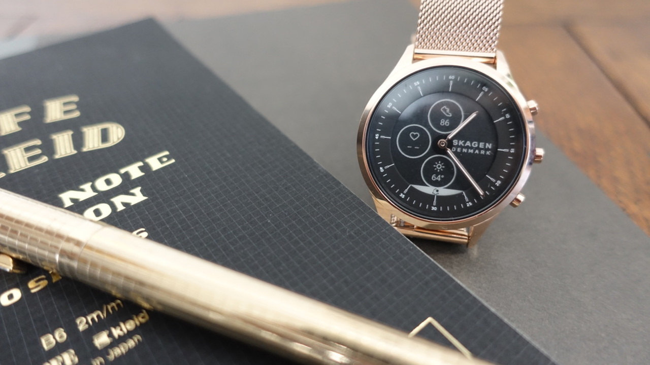 毎日つけなくてもいいじゃない。腕時計として楽しめるスカーゲンのスマートウォッチ