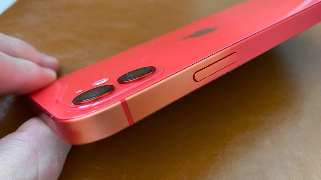 ちょいオシャレ? iPhone 12にて塗装ハゲ報告