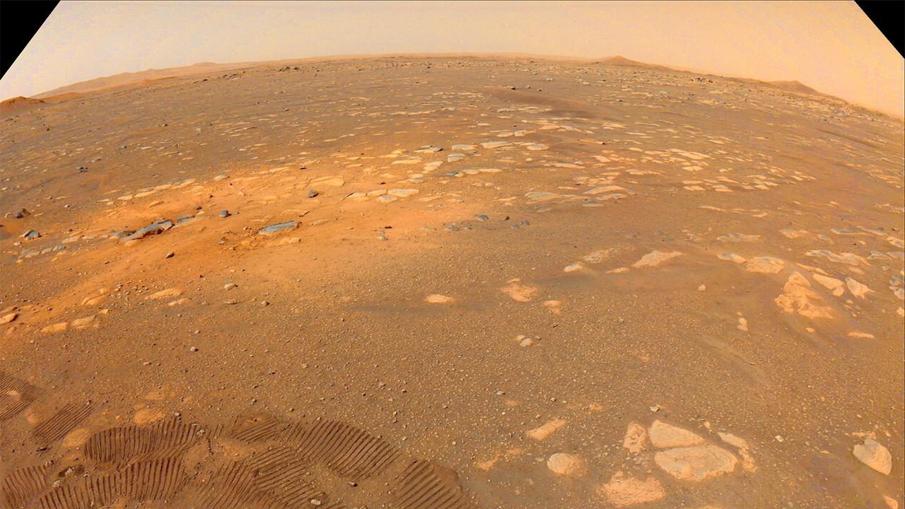 探査車「パーサヴィアランス」が火星の荒野を行くときに聞こえる音はこんな感じ