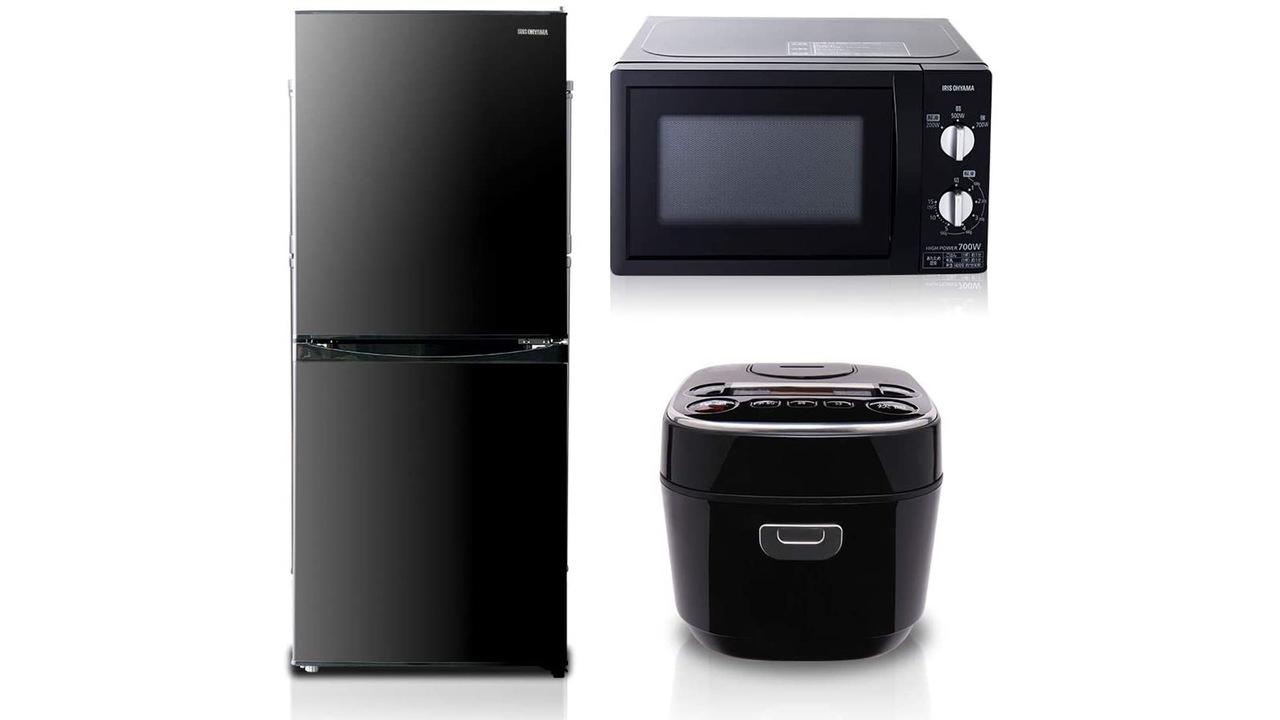 【Amazon新生活セール】冷蔵庫・電子レンジ・炊飯器。一人暮らし3種の神器が3.2万円ってすごくない?