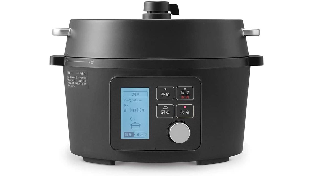 【Amazon新生活セール】放ったらかしでプロの味。電気圧力鍋がタイムセールで6,000円引き!