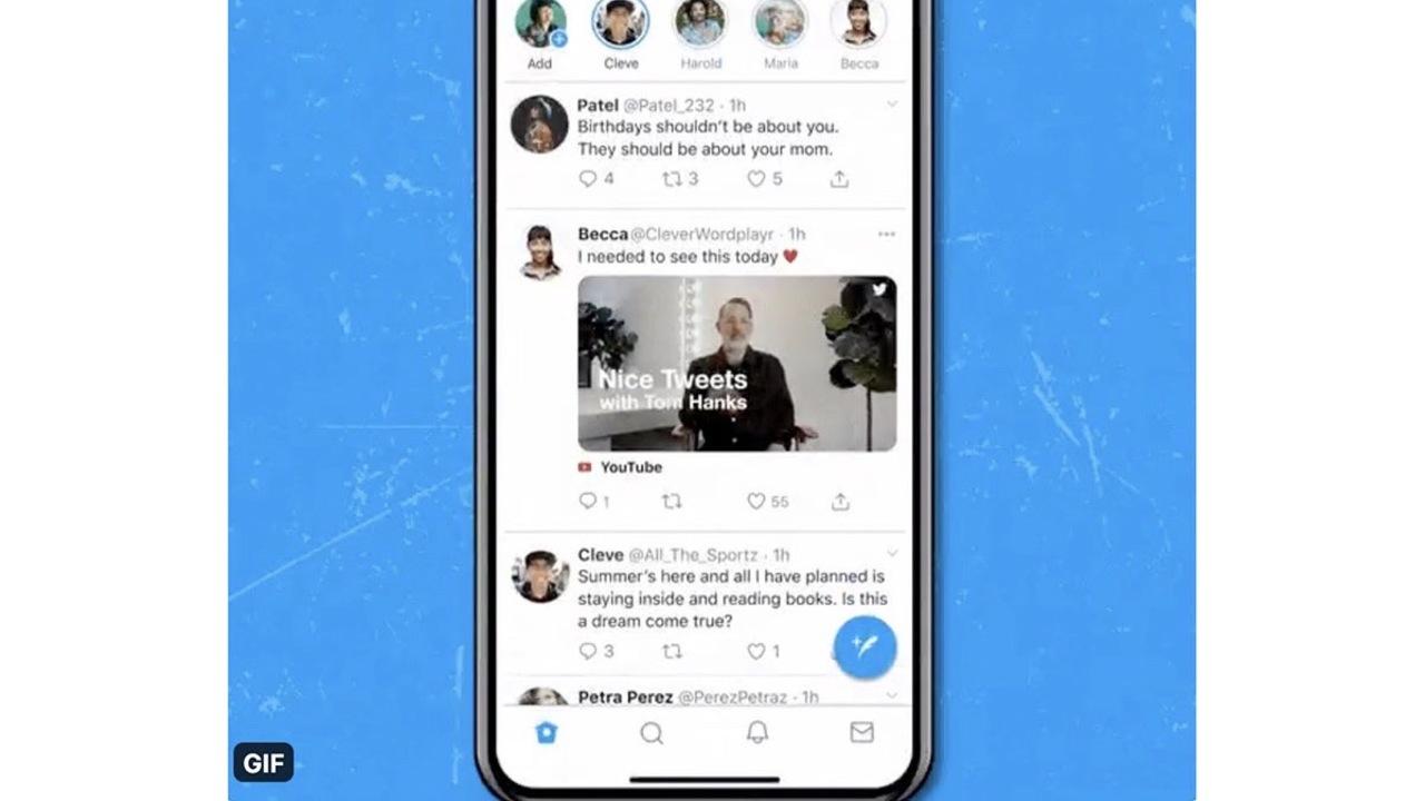 Twitterでアプリ内YouTube再生がテスト中ですって