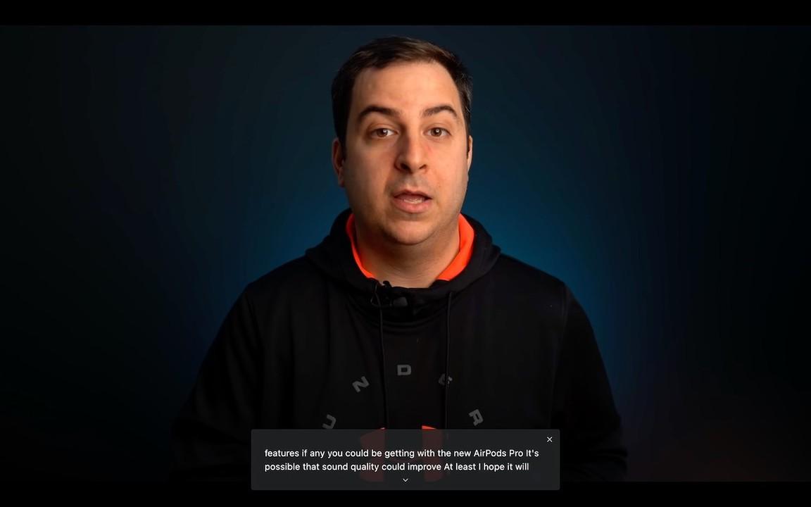 動画の音声をリアルタイムで文字に変換。Chromeデスクトップ版に書き起こし機能が登場