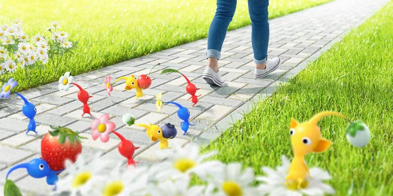 Niantic✕任天堂! 「ピクミン」と歩くアプリの事前登録がスタート!