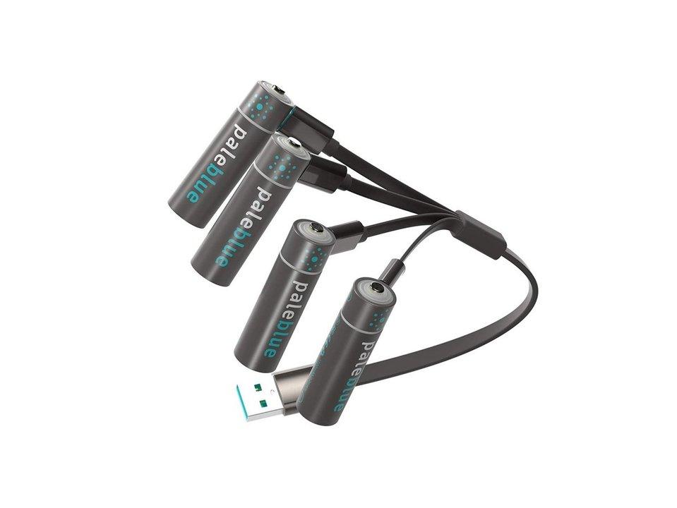 充電式は便利! USBで4本同時に充電&1000回以上使える充電式乾電池がセール中