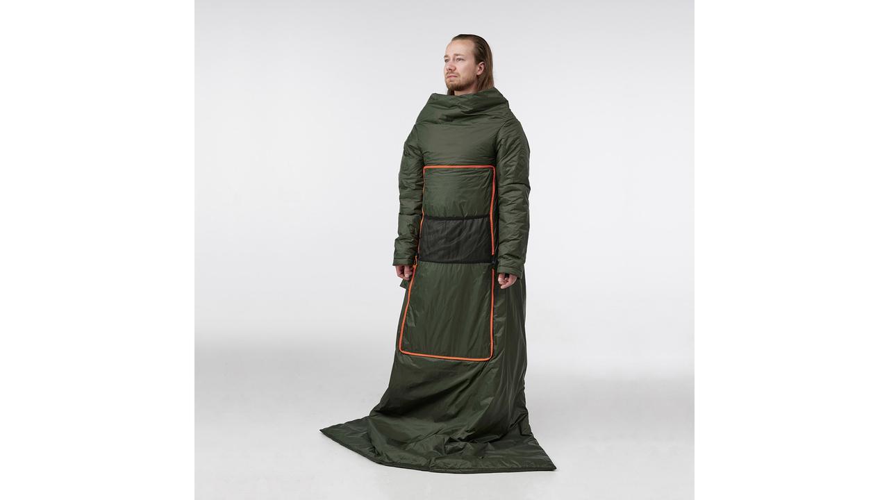 イケアの着る毛布が攻めてる。アウトドアなチルタイムに良さそう
