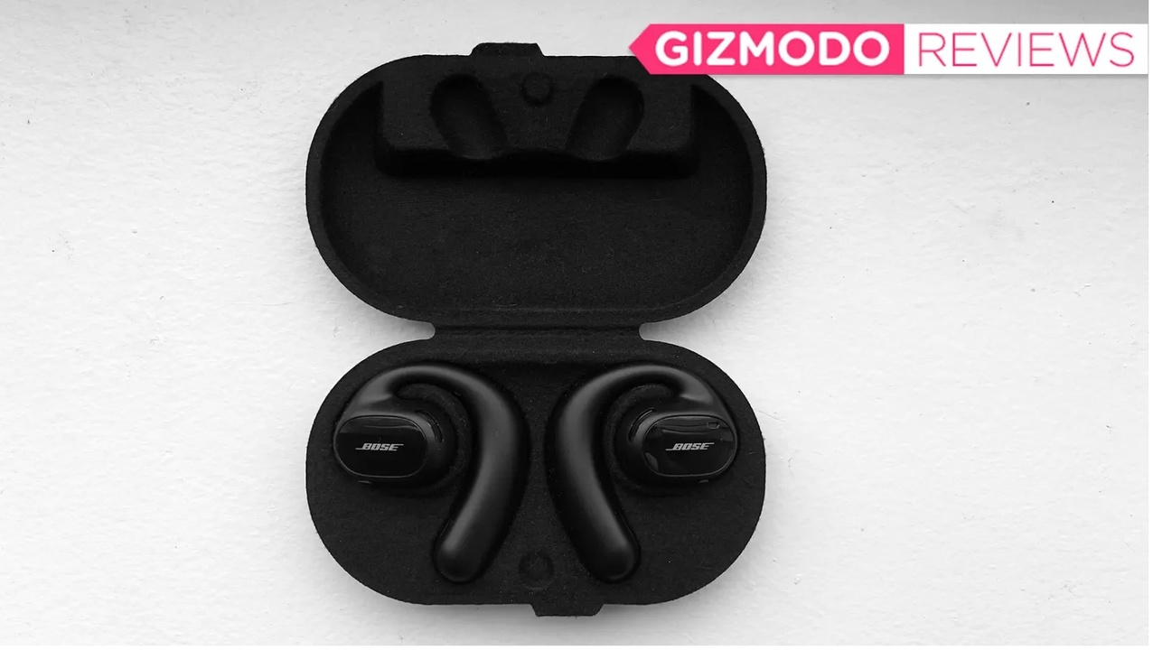 オープンイヤースタイルのイヤホン。音質は良いけど、装着感に難あり?:Bose Sport Open Earbudsレビュー