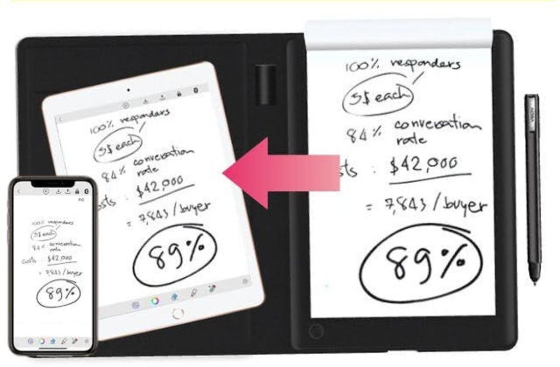 ツバメノートを採用で書き味に期待! 手書きメモをデジタル保存できるスマートパッド「T-Note」