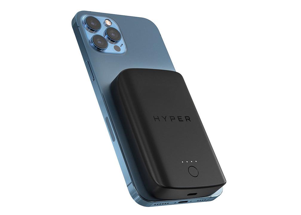 信頼のバッテリーメーカー・HYPERからiPhoneにくっつくバッテリー登場