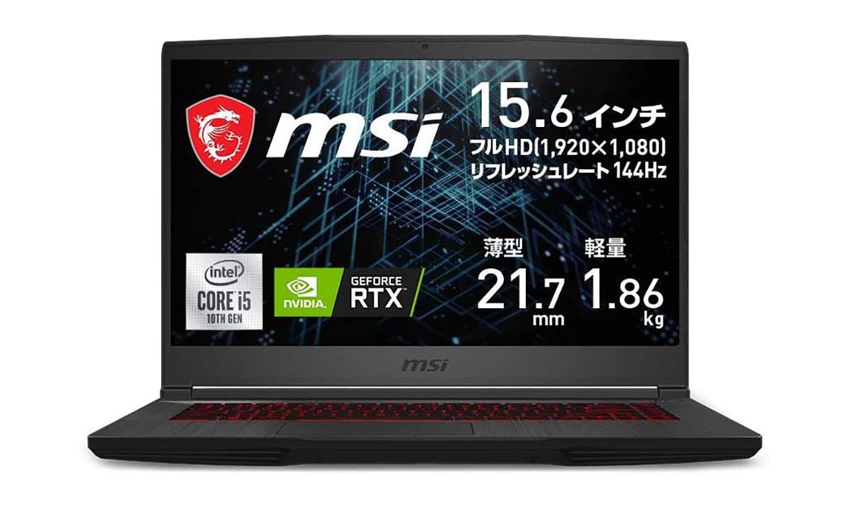 RTX3060搭載ゲーミングラップトップが13万円切りですよ