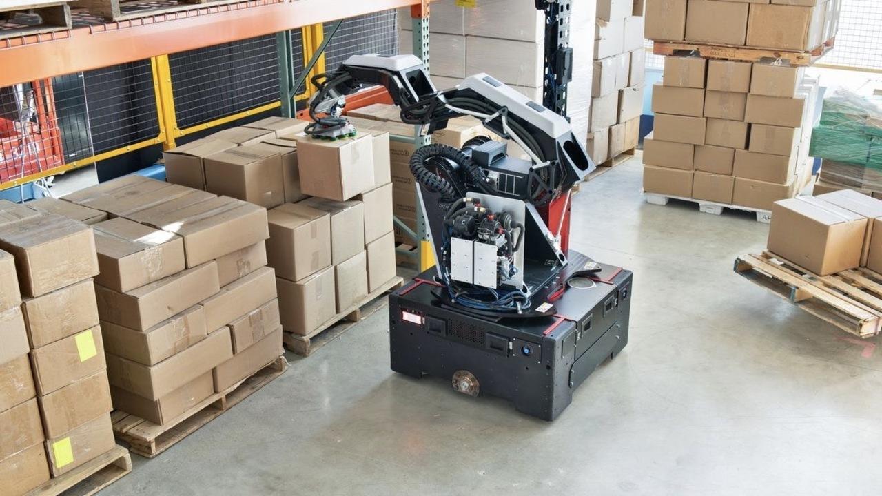 ボストン・ダイナミクスの新ロボ「Stretch」は倉庫番が得意