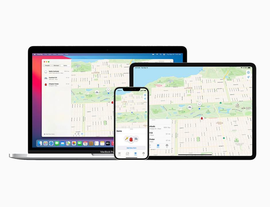 Appleの「探す」アプリが、他社製デバイスに対応しました。今後の展開に期待