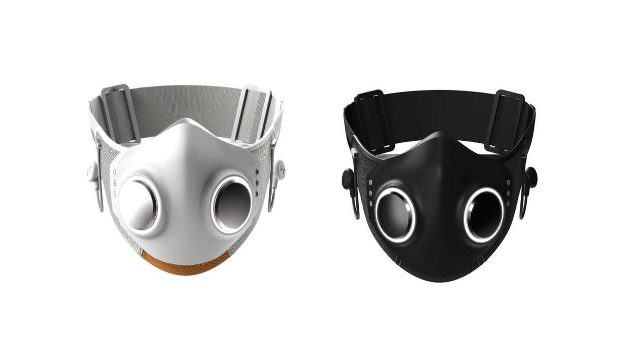 ノイキャンイヤホンにHEPAフィルター、デュアルファン、LEDまで内蔵のハイパーなマスク