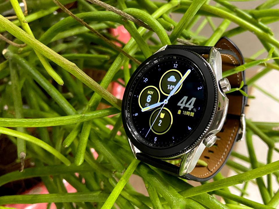 Galaxy Watch3で血中酸素濃度が計れるよ