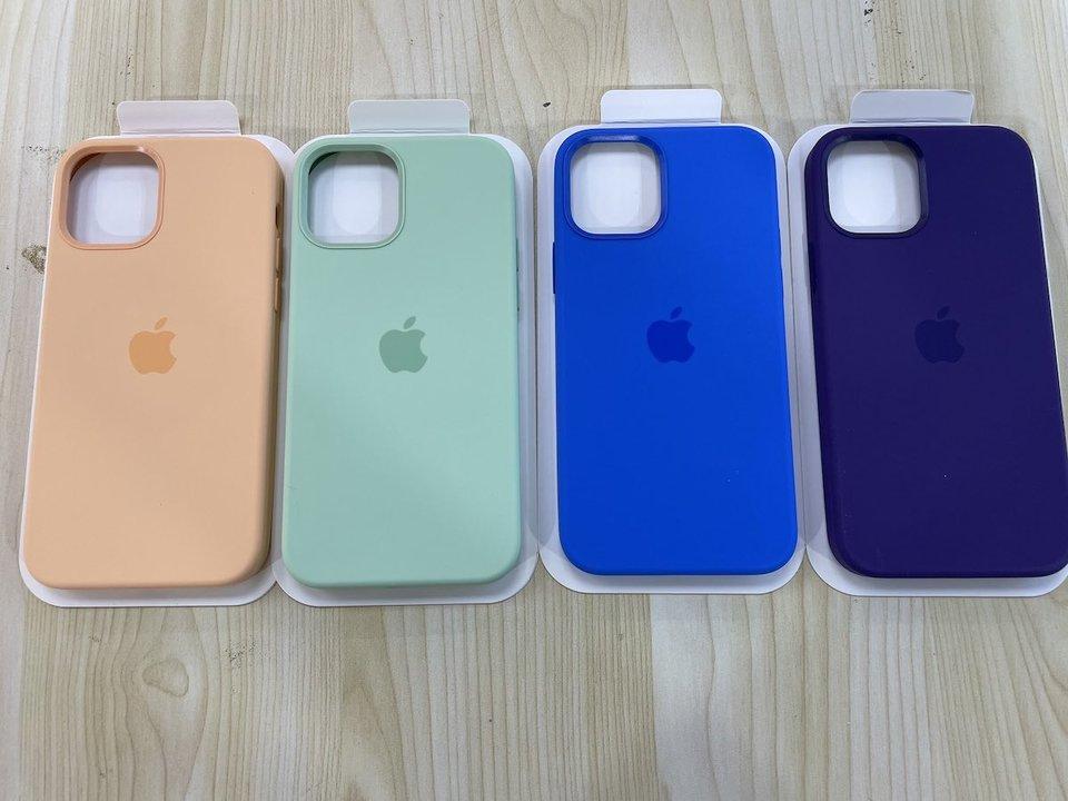 iPhone 12用シリコンケースの新色はこんな感じらしい