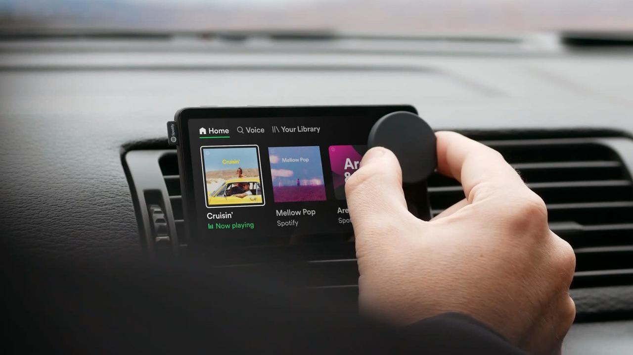 ドライブ中のSpotifyがはかどる専用デバイス「Car Thing」が登場
