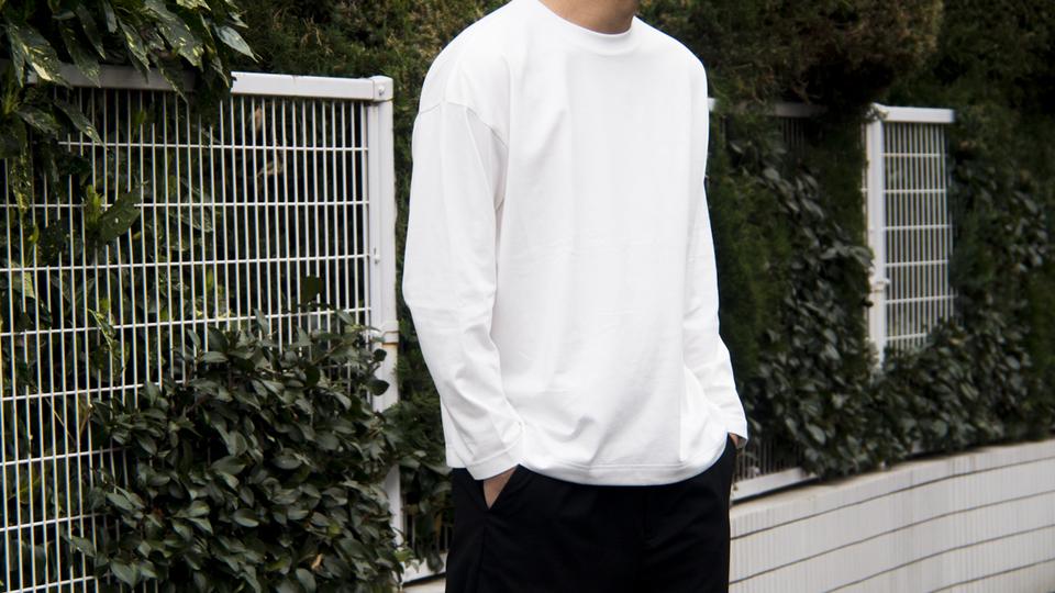 春の主戦力! シンプルだからこそ選ぶのが難しい「長袖Tシャツ」の正解がMUJI Laboにありました