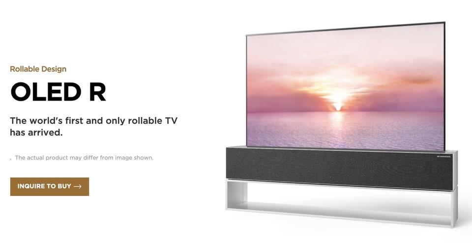 買える(けど買えない)! LGの巻き取りテレビがグローバル販売受付開始