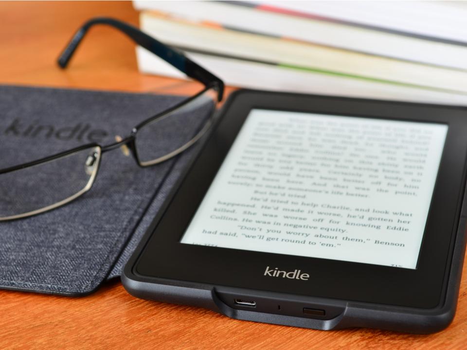 Kindleのロック画面に「今読んでる本の表紙」を設定できるように