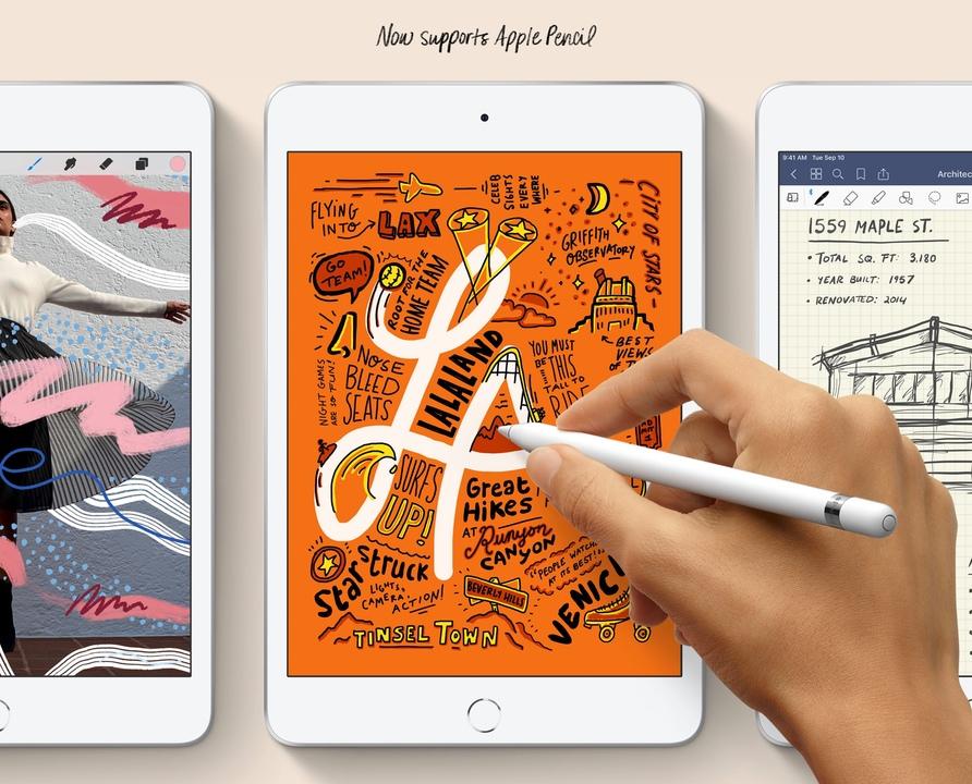 全画面のiPad mini出ませんでした #AppleEvent