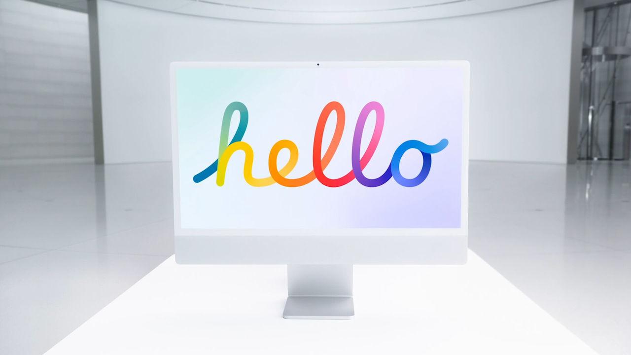 伏線回収。7色のiMac登場。繰り返す、7色のiMac登場せり! #AppleEvent