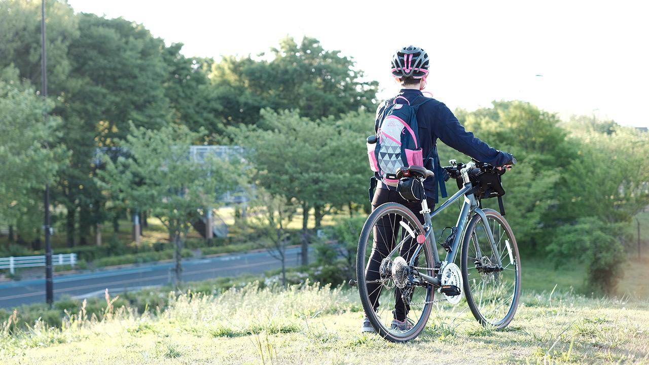 密対策なら、ぼっち旅。自転車用リュックにありったけつめこんで出かけよう