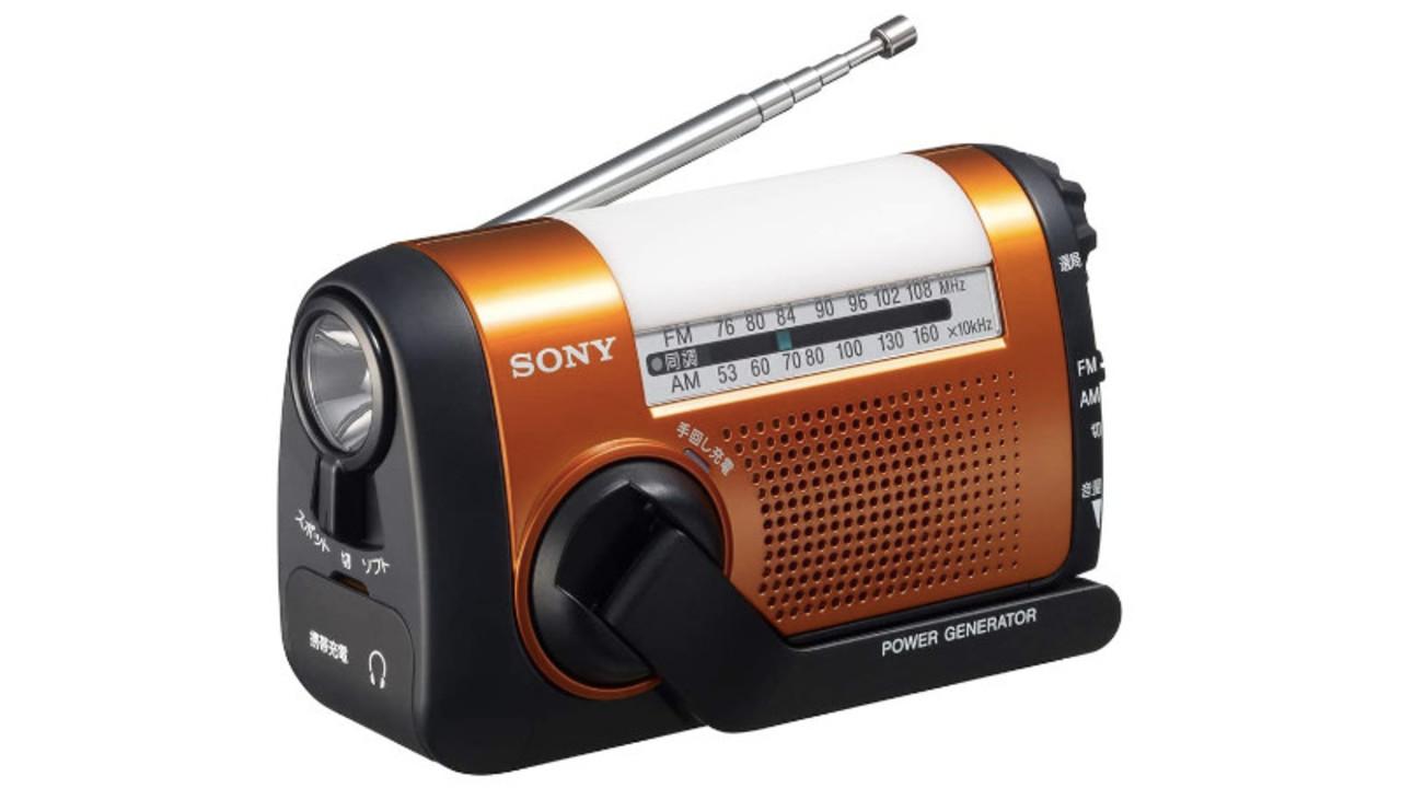 スマホ充電対応でLEDライトを搭載したポータブルラジオは、普段使いにもオススメ