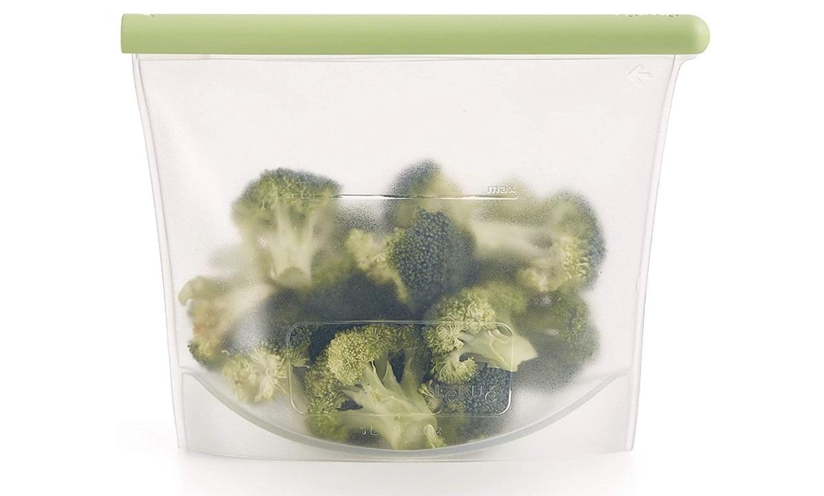 常備菜の保存にも便利! エコな縦置きシリコンバッグで、地球にも自分にも優しく。