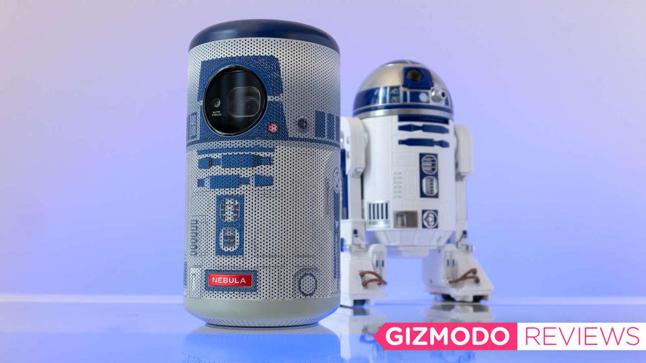 小さい! かわいい! でもいろいろと惜しいよ、R2-D2のミニプロジェクター