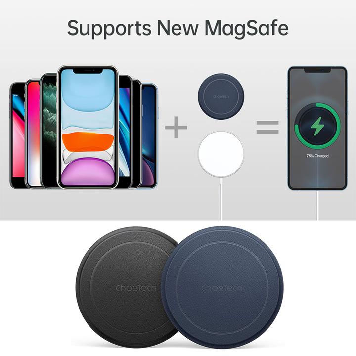 8以降のiPhoneでMagSafeが使える磁気金属プレート。磁力の恩恵に与ろう