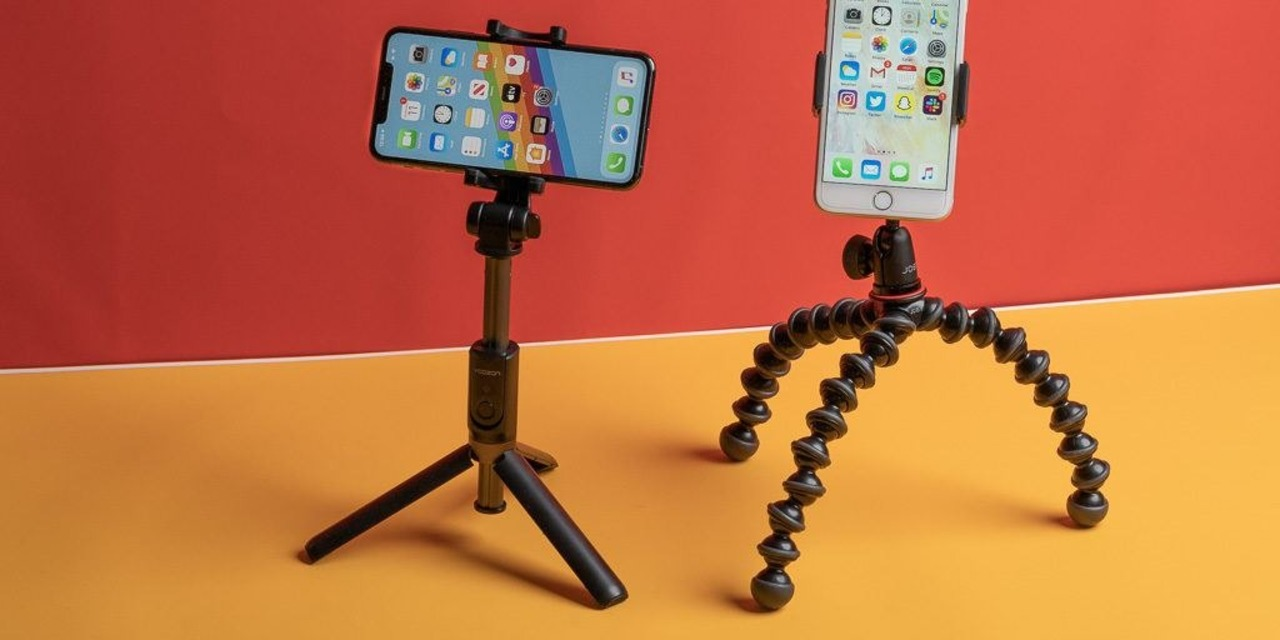 スマホ用三脚&マウントおすすめNo.1が決定。自撮り棒兼用タイプもご紹介