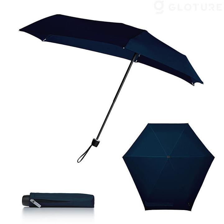 ゲリラ豪雨や台風に備えて。風速70km/hの暴風雨に耐える折りたたみ傘