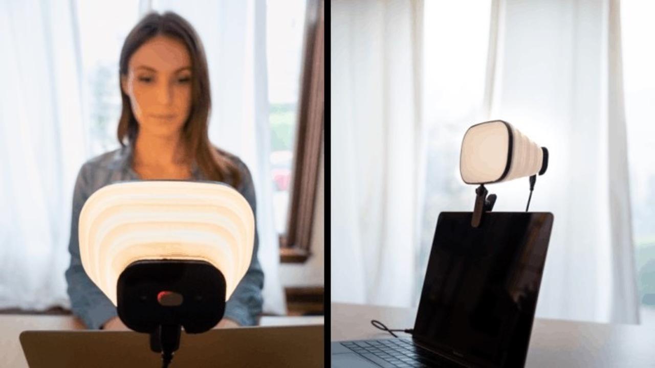 Web会議の印象がアップ! スタジオレベルのPC取付式LEDライト「Zumy」登場