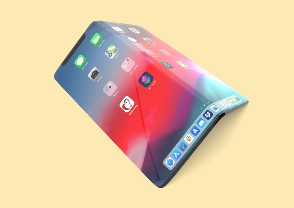 折りたたみiPhoneは8インチで2023年に登場?