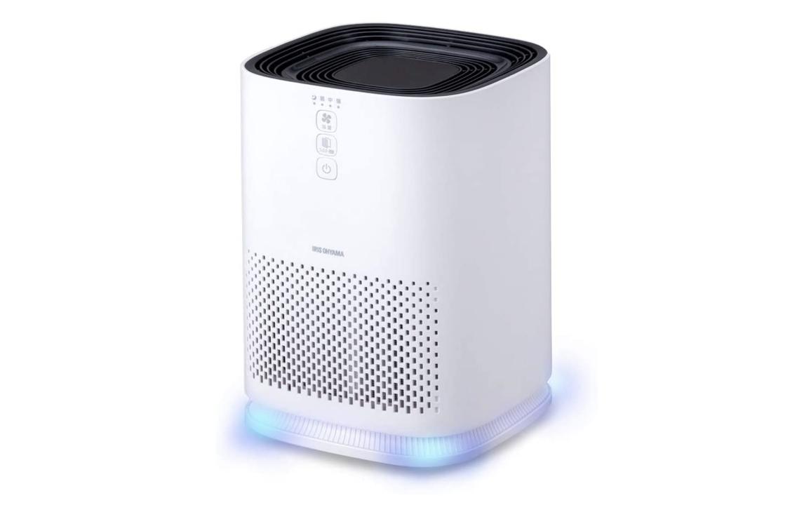 コンパクトで静かな空気清浄機なら、手軽に色々な場所の空気をキレイにできるね