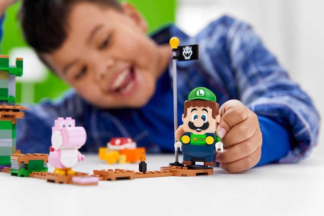 参戦日は7月10日! レゴのスーパーマリオに「ルイージ」登場