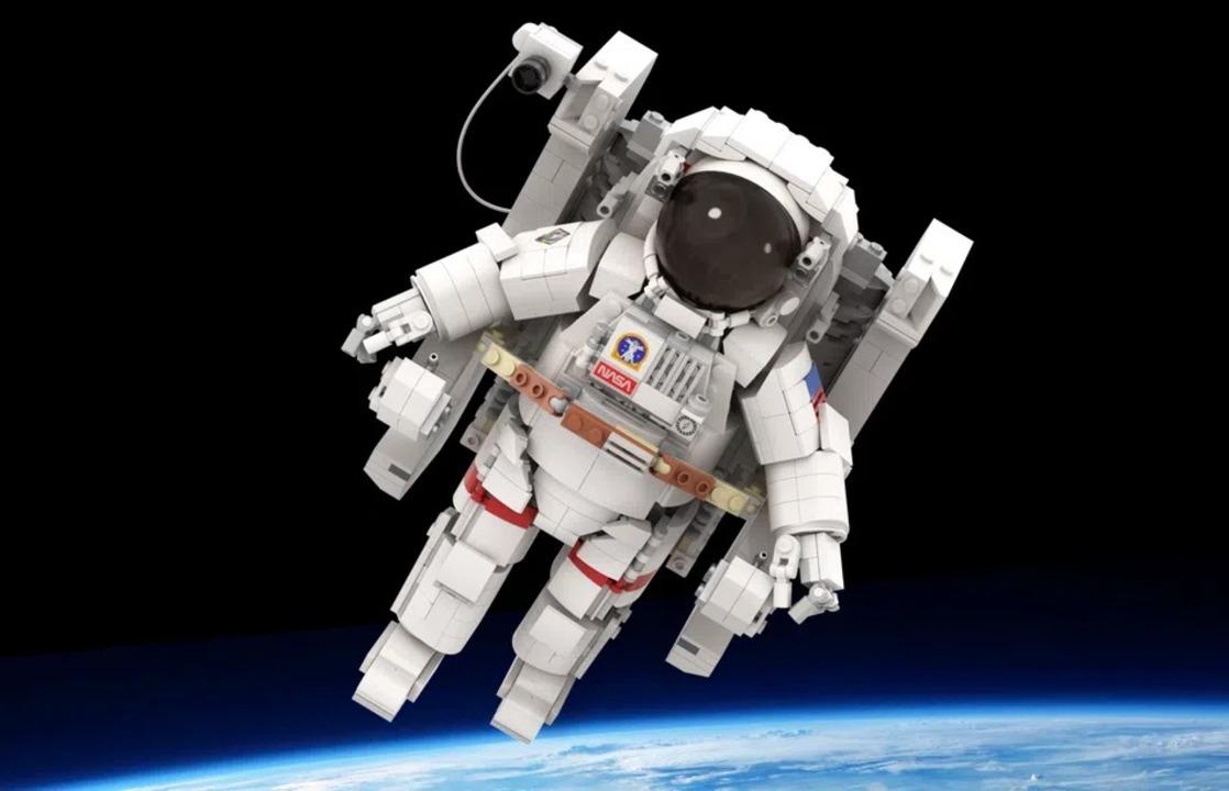 LEGO IDEASでNASAの宇宙飛行士が1万いいねを獲得。商品化は近い?