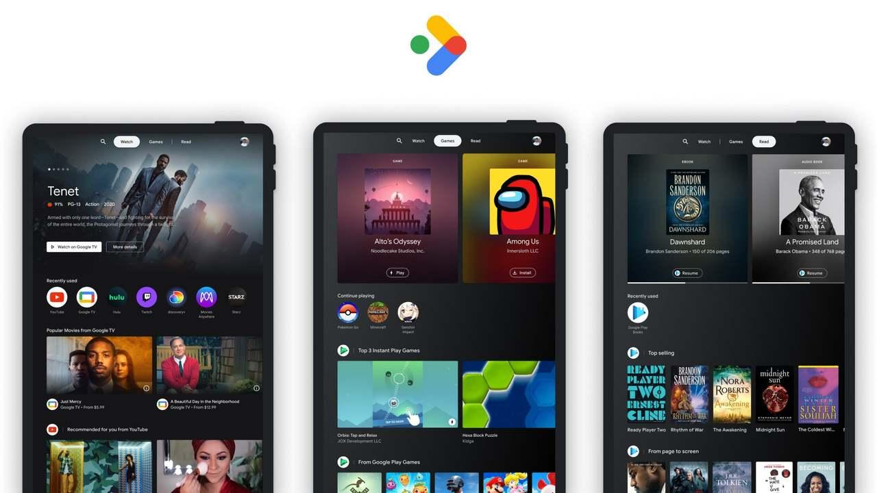 AndroidタブレットでGoogle TVのような体験が可能に