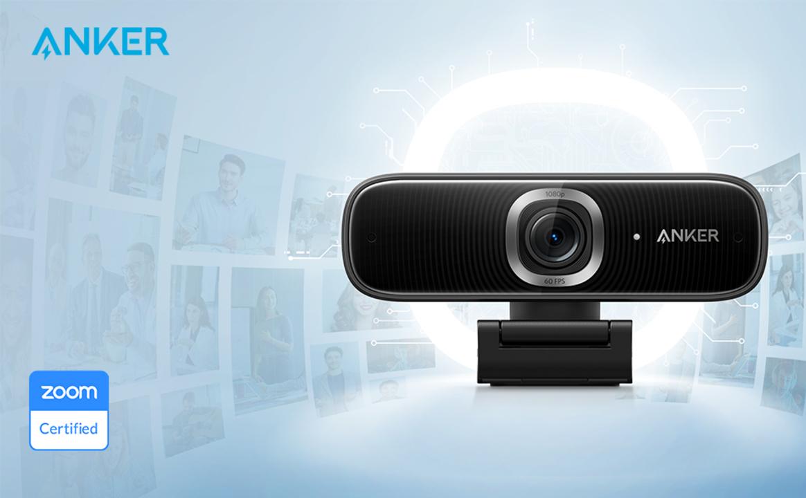 AnkerからZoom認証のWebカメラが登場! 広角&高速AF対応「Anker PoweConf C300」デビュー