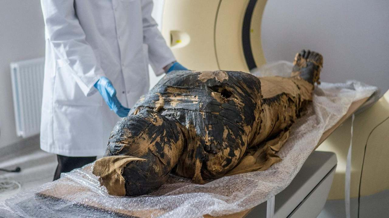 棺に書かれた名前は別人だった。最新技術で調査したら史上初の妊婦のミイラと判明