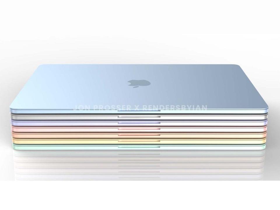 次期MacBook Air、iMacのようにカラフルに?
