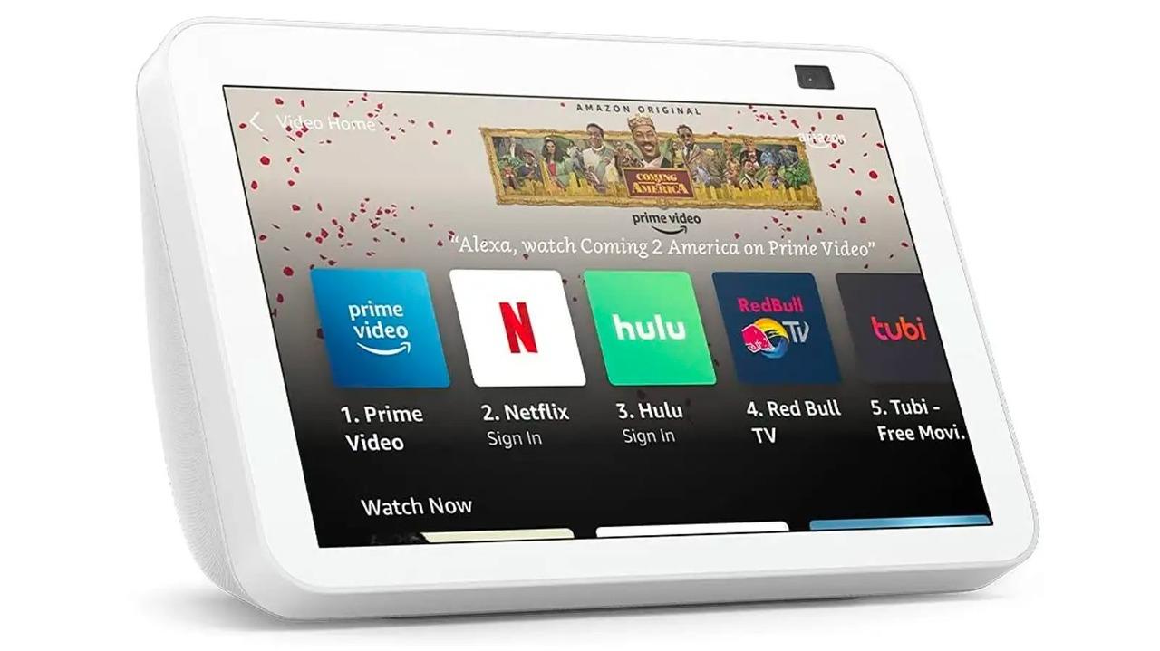 Amazon Echo Show 8発表、自動フレーミング機能を搭載