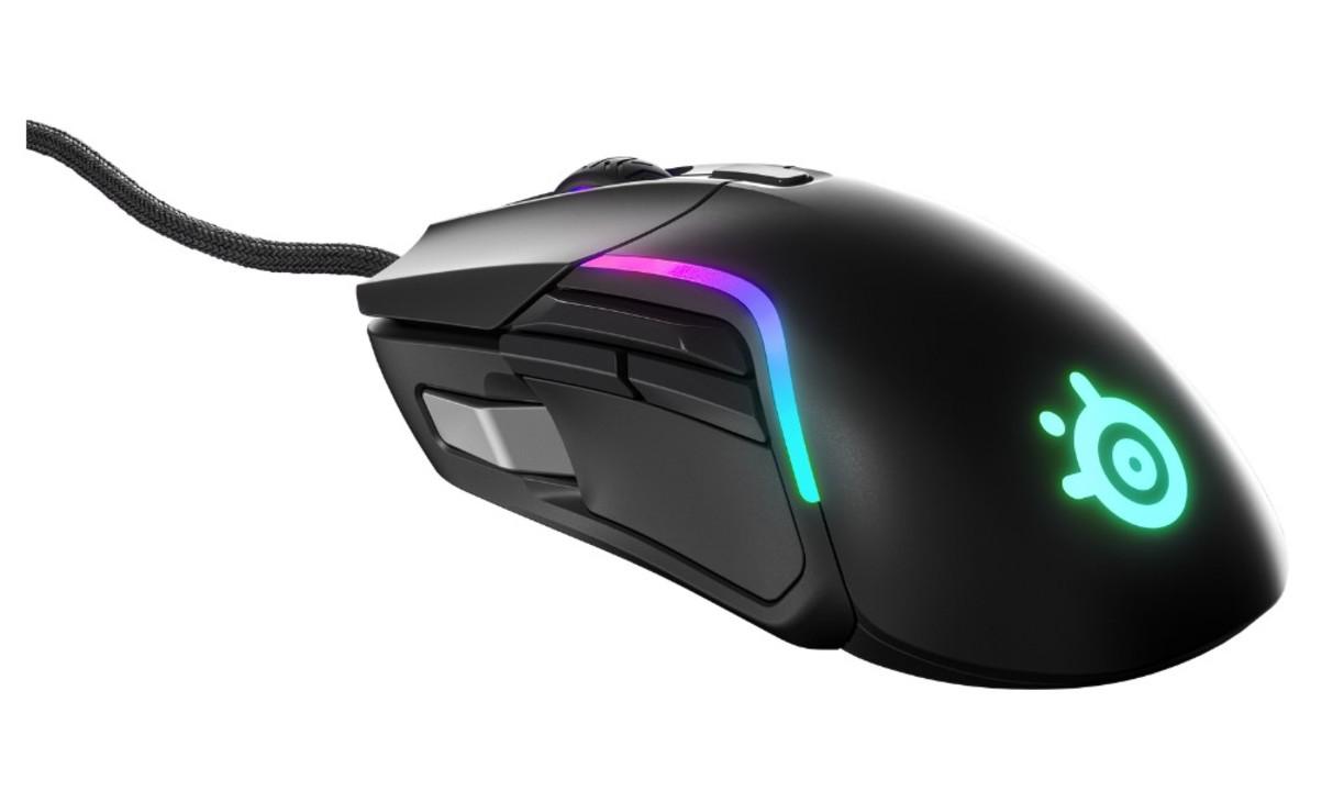 9個のボタン搭載&極彩色に光る! たった85gの軽量ゲーミングマウス「RIVAL 5」