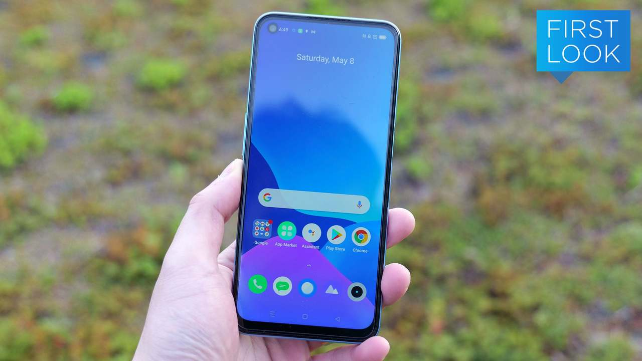 Realme 5Gはすっきりシンプルかつ安価な5Gスマートフォン