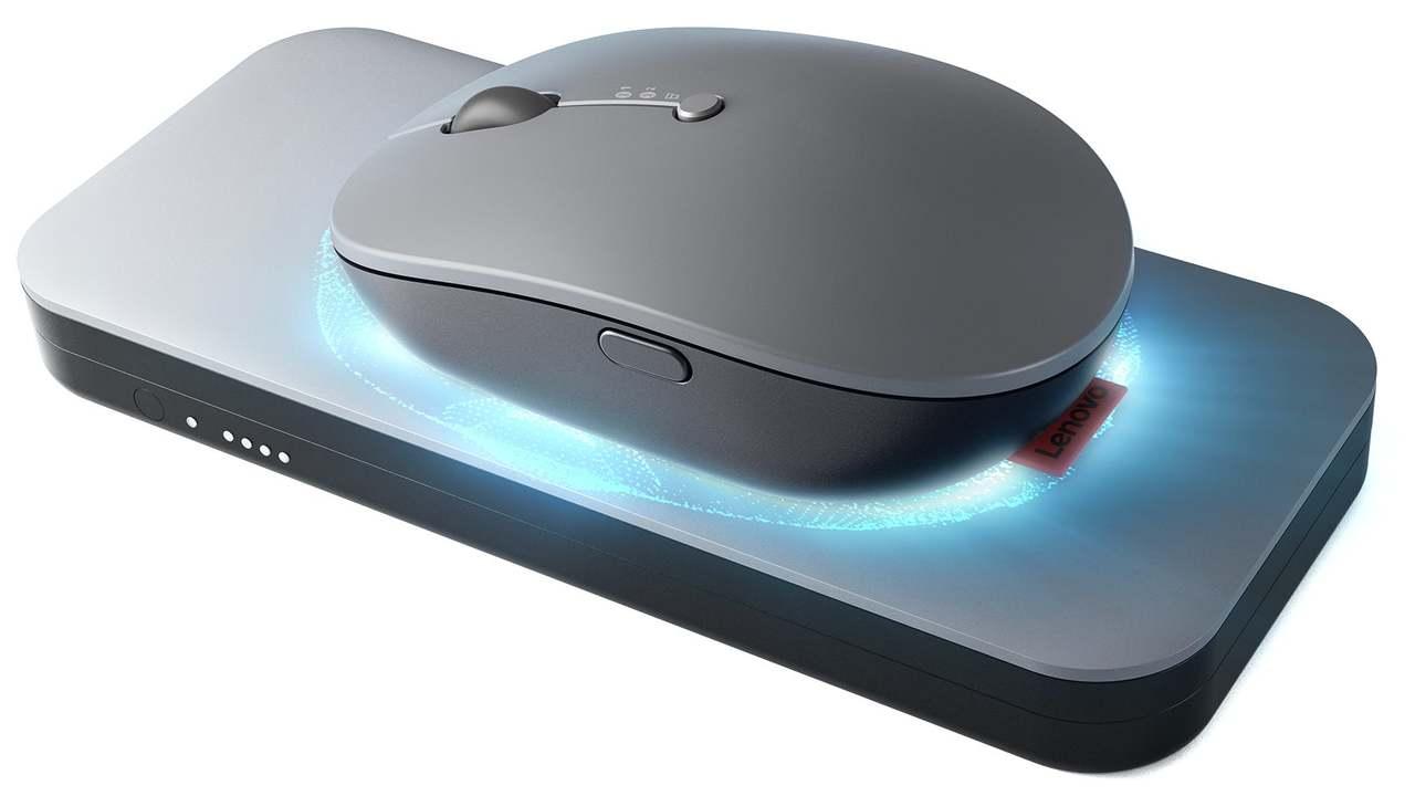 見よアップル! レノボの新コードレスマウスはパッド上で充電可能