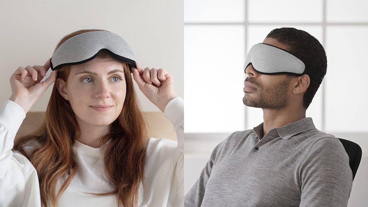 目を圧迫せず6層構造で視界が真っ暗に。眠りを助けるアイマスクで快眠を