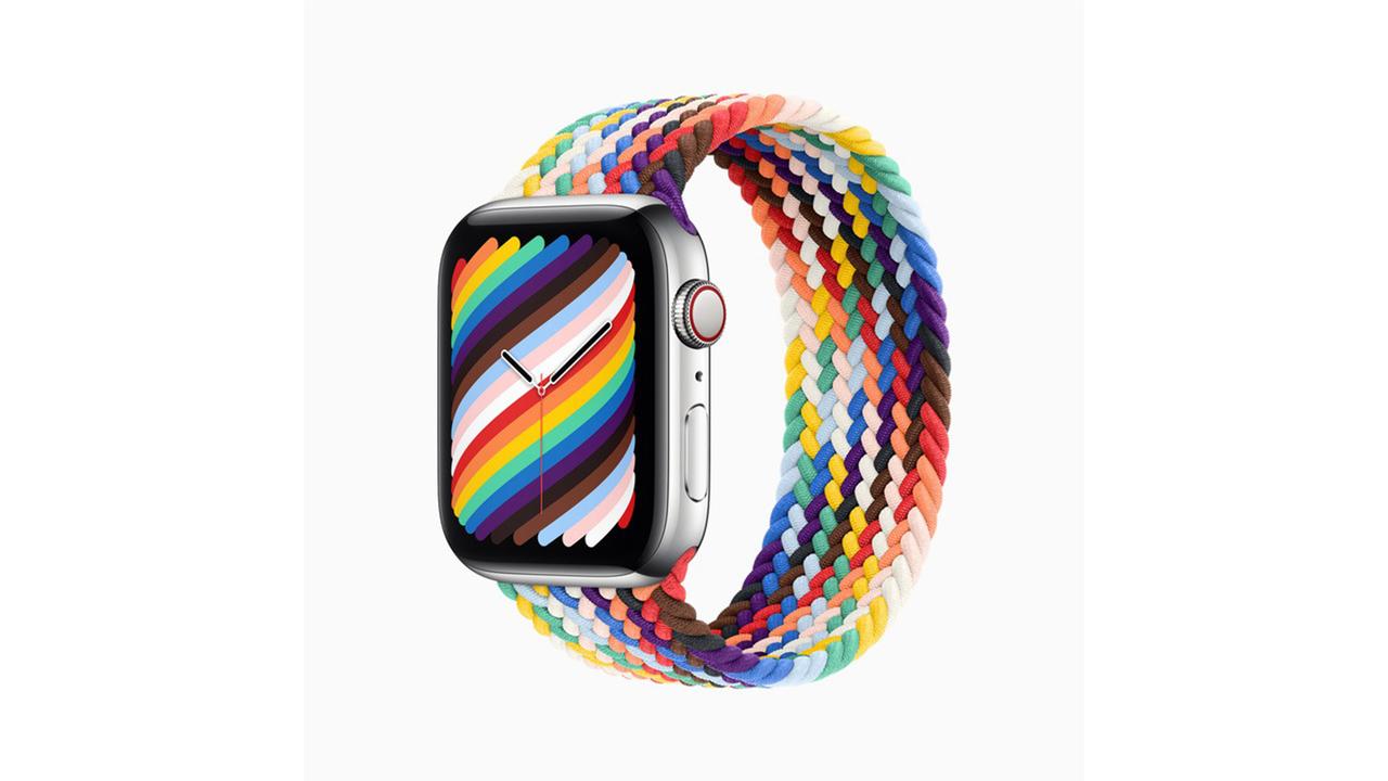 Apple Watchの今年の新作プライドバンドは、ソロループとNIKEスポーツループが登場